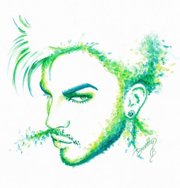 Adam Lambert - Holy Green by dojjU
