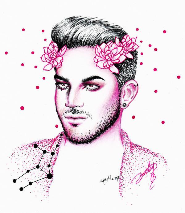 Adam Lambert - What's Your Sign? II Virgo by dojjU
