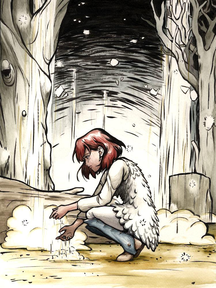 Nausicaa Fan Art by Tallychyck