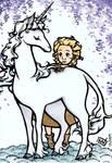 Last Unicorn and Molly Grue
