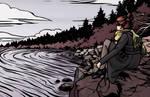 Lake Illustration