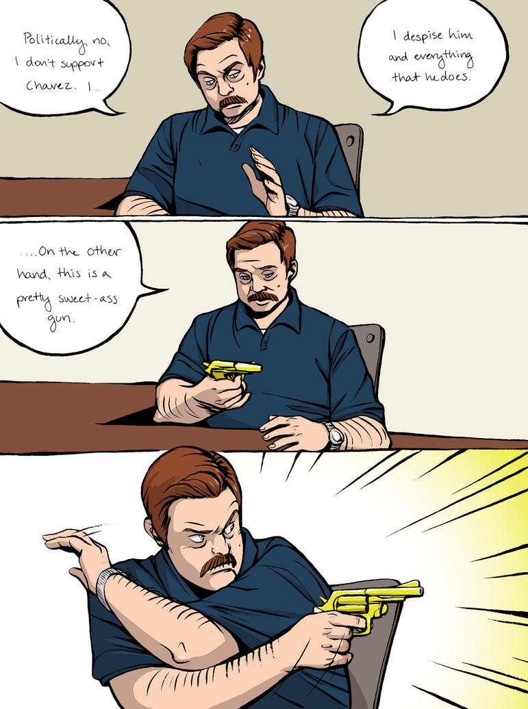 Ron Swanson 3 by Tallychyck