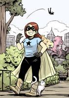 Superhero Girl by Tallychyck
