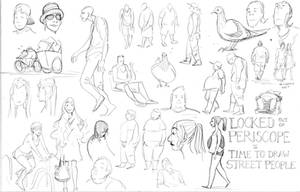 Street People Sketches