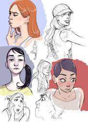 Sketchbook 01 by Tallychyck