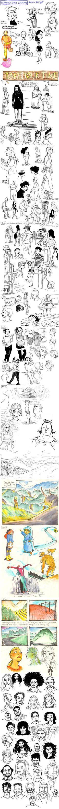 September 2013 sketches