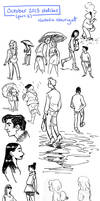 October 2013 sketches (part 2) by Tallychyck