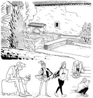 Life drawing - Alhambra