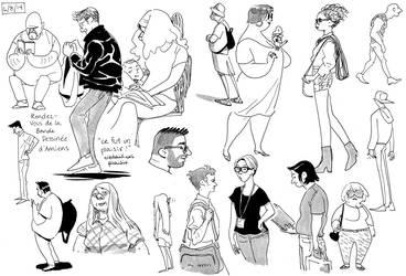 Life drawings Amiens