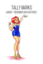 Tally Marks: August - December 2014 Sketches cover