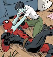Deadpool #250 (a.k.a. #45) by Tallychyck