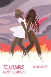 2016 digital sketchbook cover