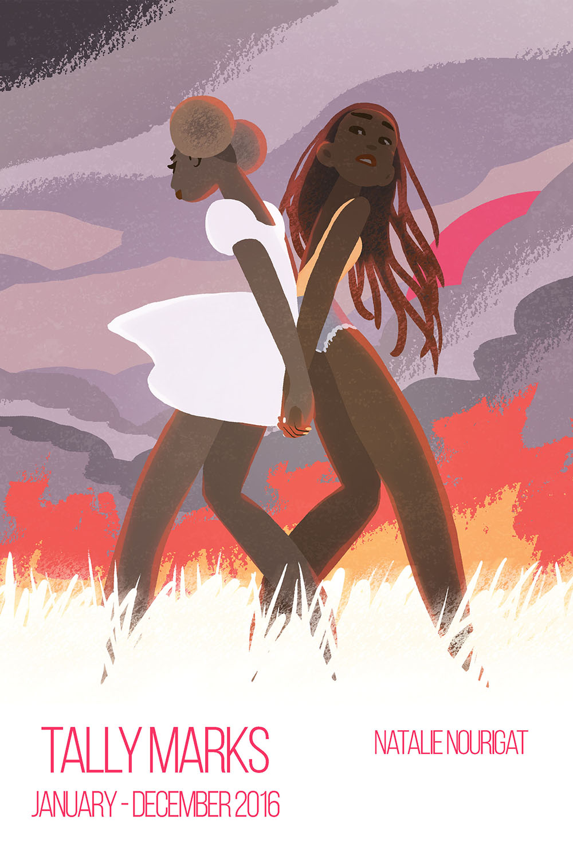 2016 digital sketchbook cover by Tallychyck