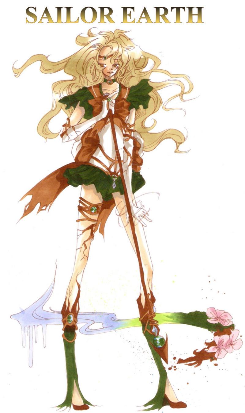 Sailor Earth Symbol Sa...