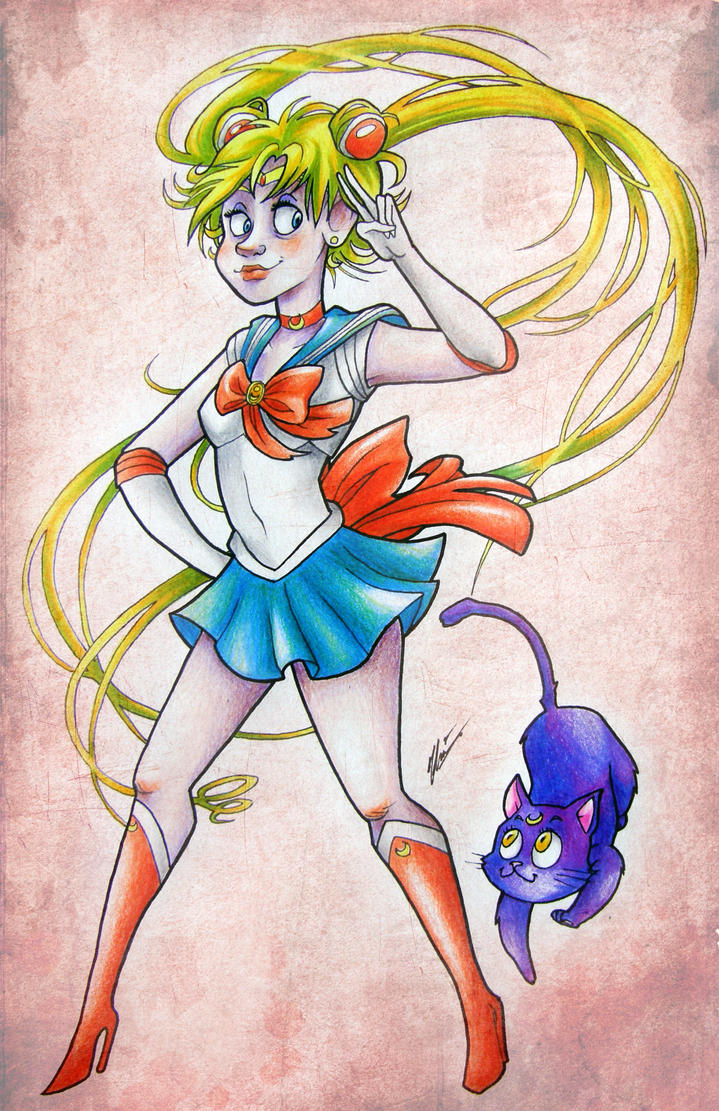 Sailor Moon by Super-Chi