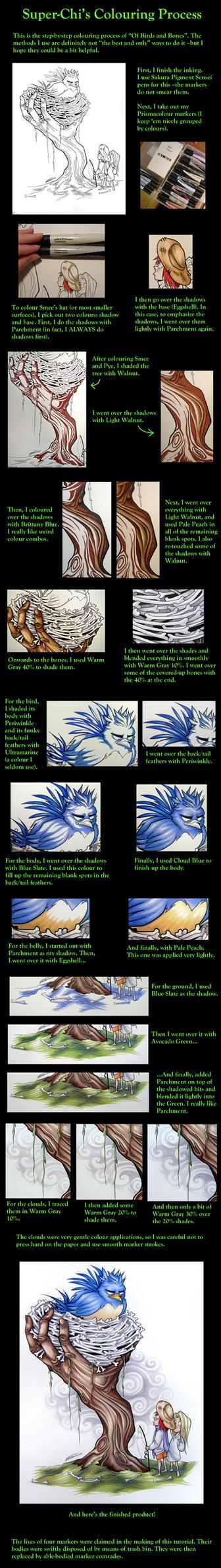 Super-Chi's colouring process by Super-Chi