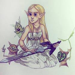 Princess Zelda by Super-Chi