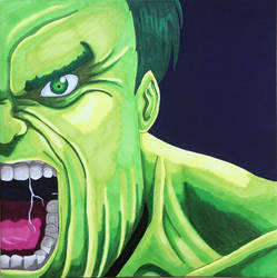 COMMISSION: The Incredible Hulk
