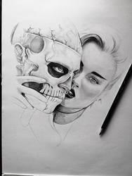Rick Genest, Zombie Boy in progress