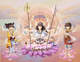 Guanyin and the Thousand Arms