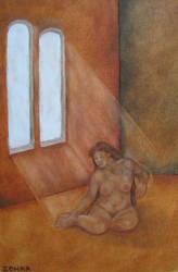 Nude at light by elindith