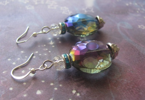 Ocean Waves Earrings by LKJSlain