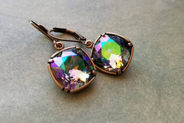 Arkenstone earrings by LKJSlain