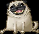 Pixel pug