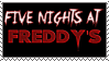 Five Nights at Freddy's Stamp by Viper1999