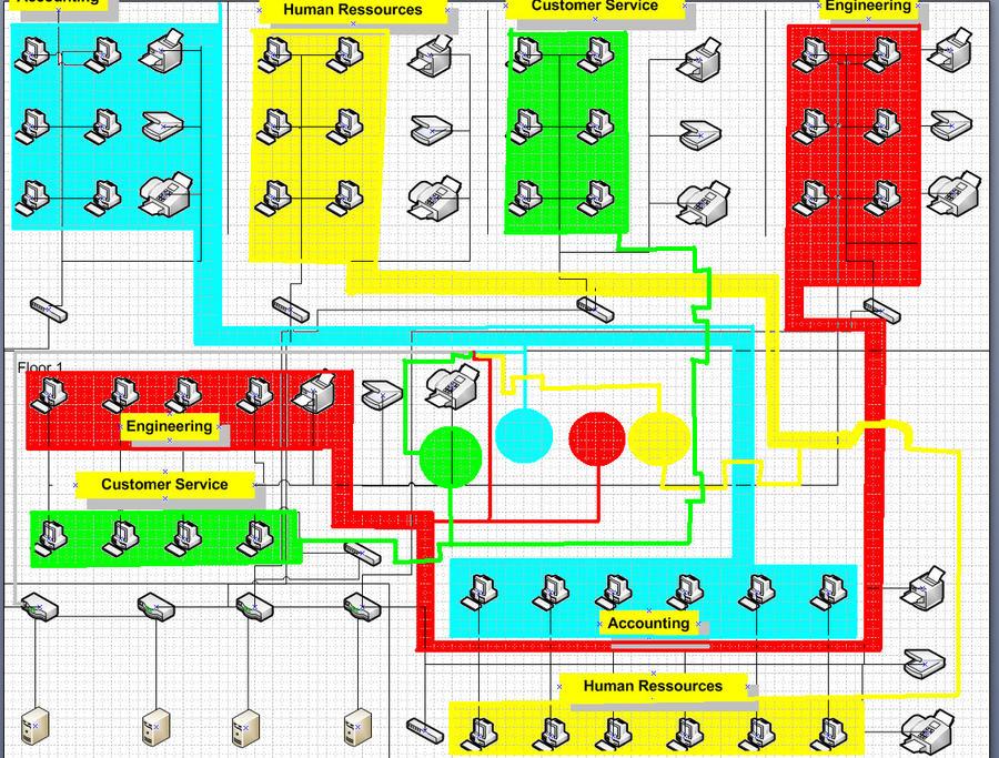 Classroom Network Design ~ Network design for class o by skyaoisora on deviantart