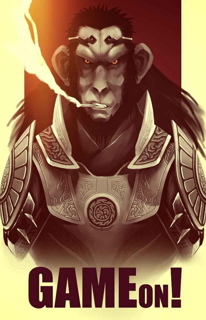 Monkeyking by xarthoric