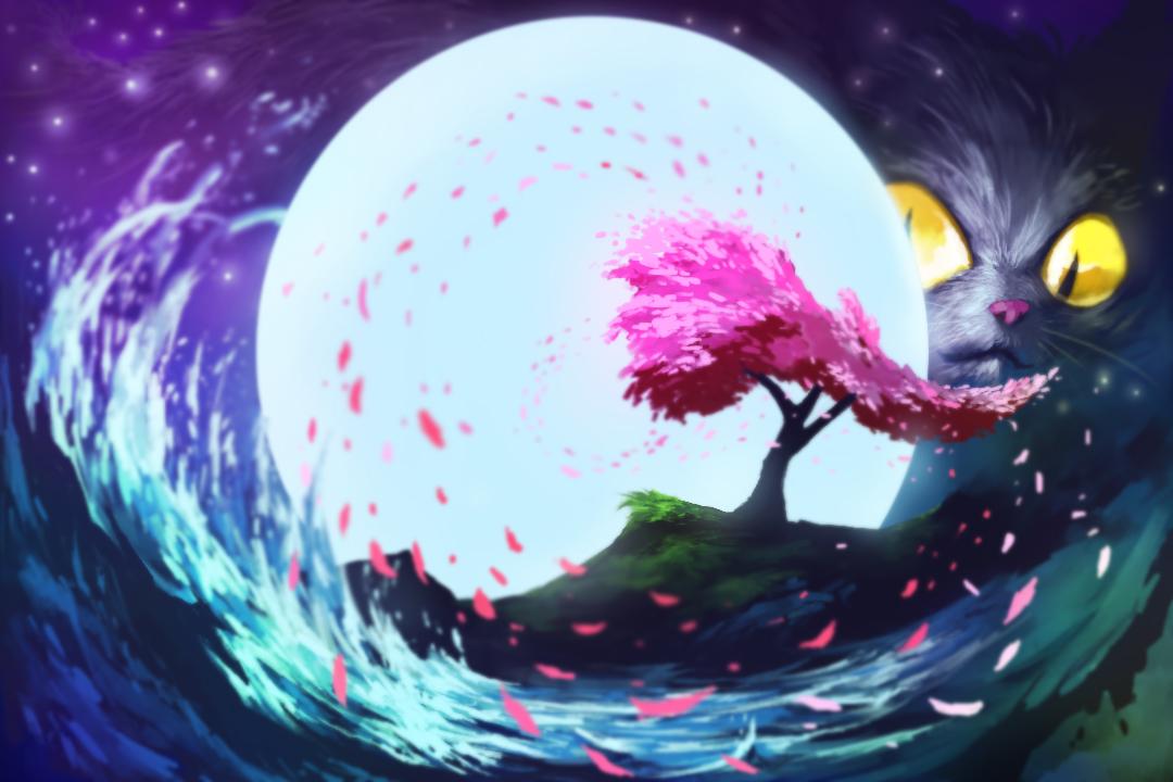 Moon by xarthoric