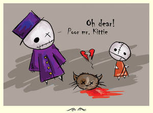 poor mr. kittie #2