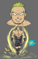 Broly Lesnar by RandomBoobGuy-dA