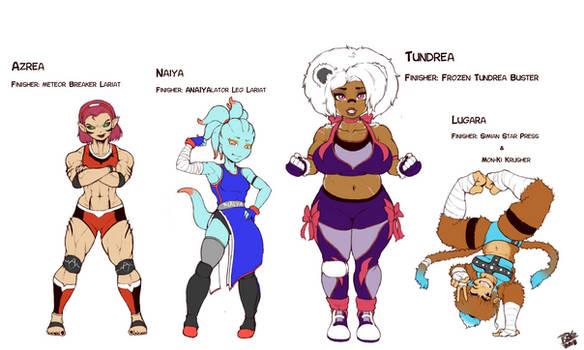 Wrestler girls