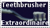 Teethbrusher stamp by Cat-in-the-Stock