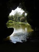 Inside the grotto 2 by Cat-in-the-Stock