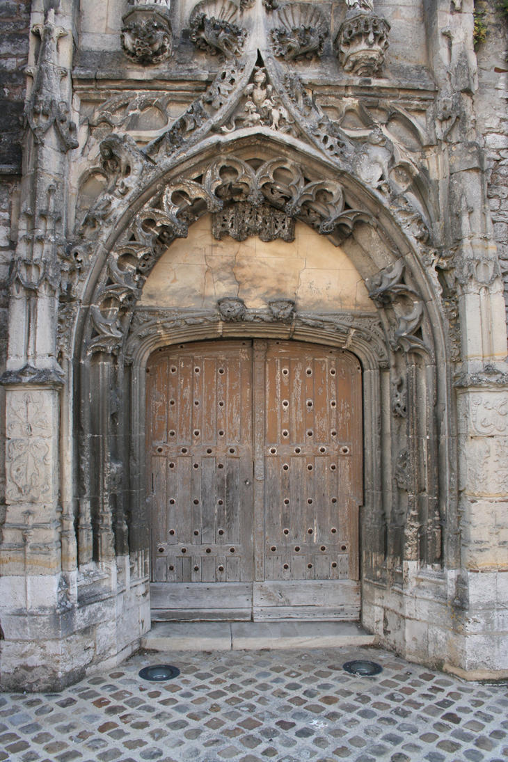 Medieval door - unrestricted by Cat-in-the-Stock