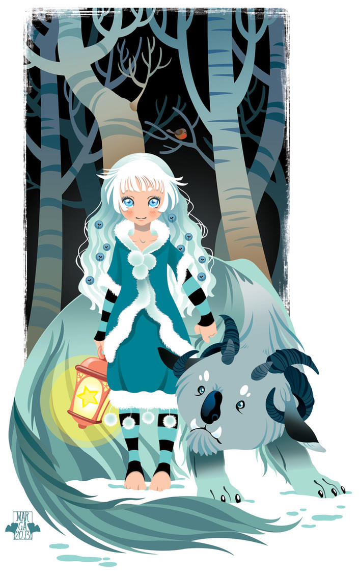 La Bambina Della Neve by blackBanshee80