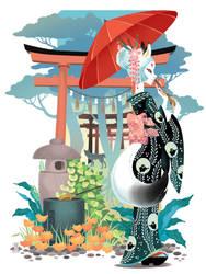 Japan spirits: INARI KITSUNE