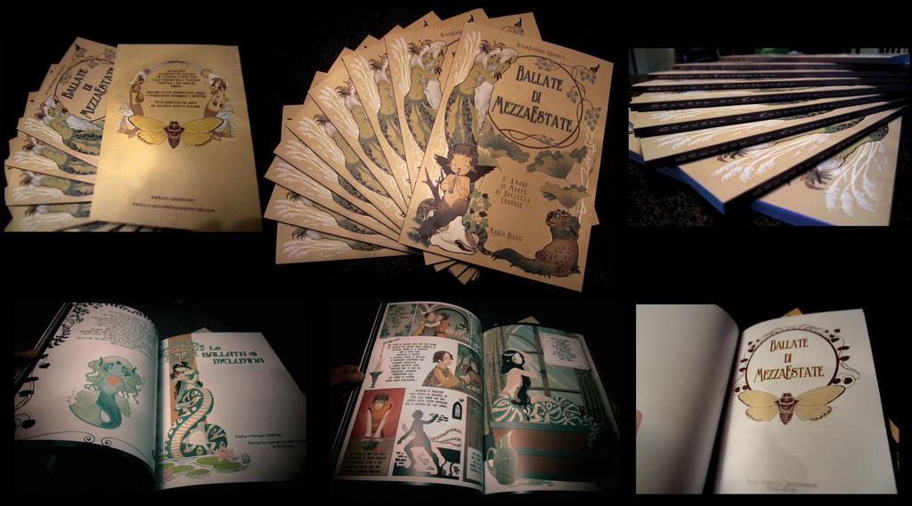 BALLATEDIMEZZAESTATE_the graphic novel,now avaible by blackBanshee80