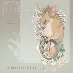 La metamorfosi del dio, cover by blackBanshee80