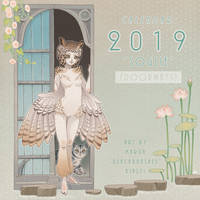 Calendar cover 2019 by blackBanshee80