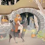 Di streghe,zucche e gatti neri by blackBanshee80