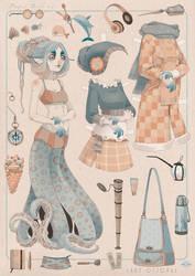 PaperDoll LADYOCTOPUS by blackBanshee80