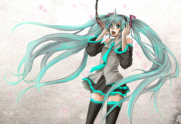 Vocaloid : Hatsune Miku by Zoo-chan