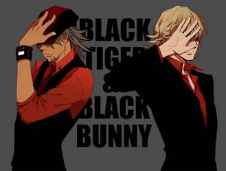 BlackTiger_BlackBunny by Zoo-chan