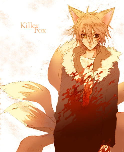 killer fox by ~Zoo-chan
