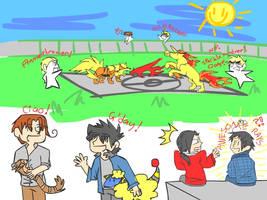 Pokemon - Hetalia by beware-of-pie