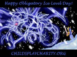 OILD: Ice Wyvern by jazaaboo
